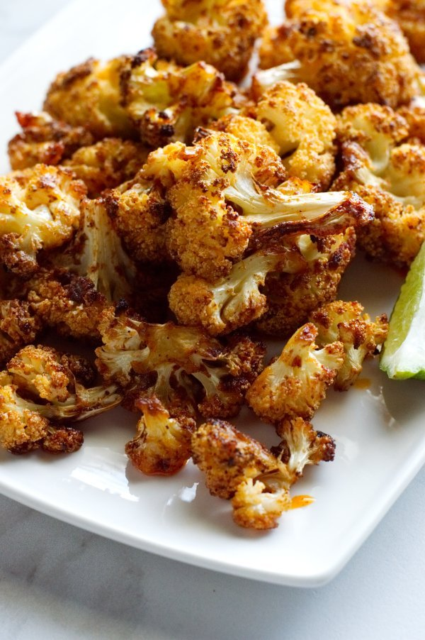 Roasted Cauliflower with Chili, Lime & Browned Butter with Seasonings