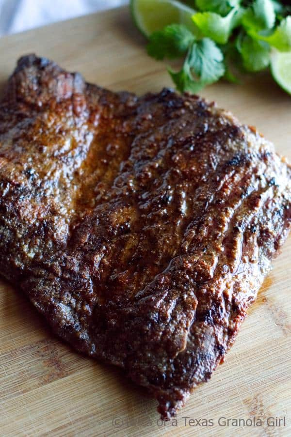 Chili Lime Steak Fajitas - Low Carb, Keto, Dairy Free