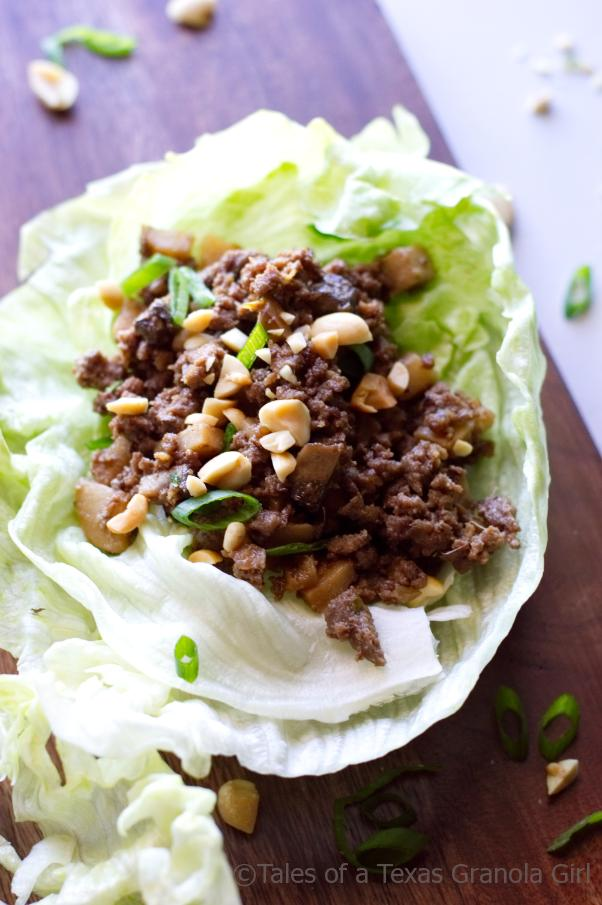 Ground Venison Lettuce Wraps - Low Carb, Keto, Dairy Free