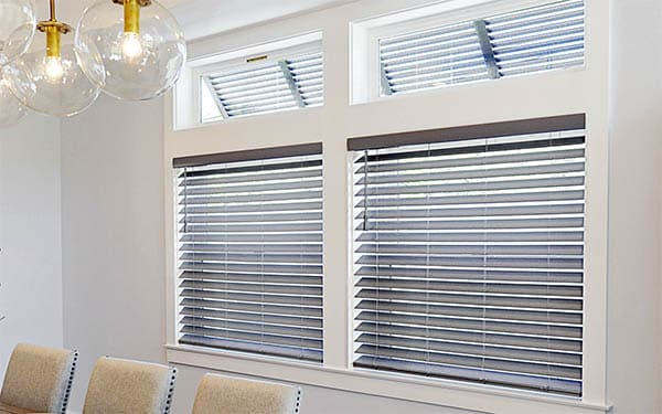 Faux Wood Blinds are Great Window Treatments for Less