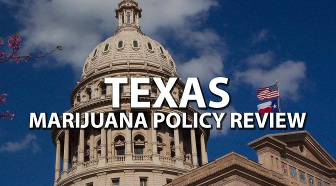Where do Texas' marijuana policy-related bills currently stand?