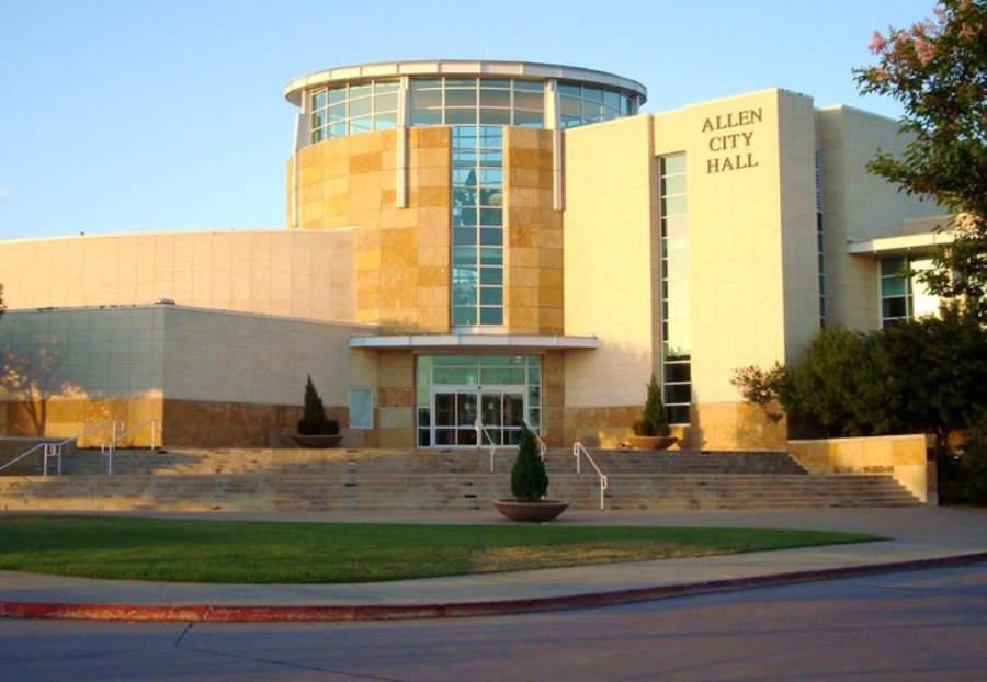 Allen City Hall in Allen Texas