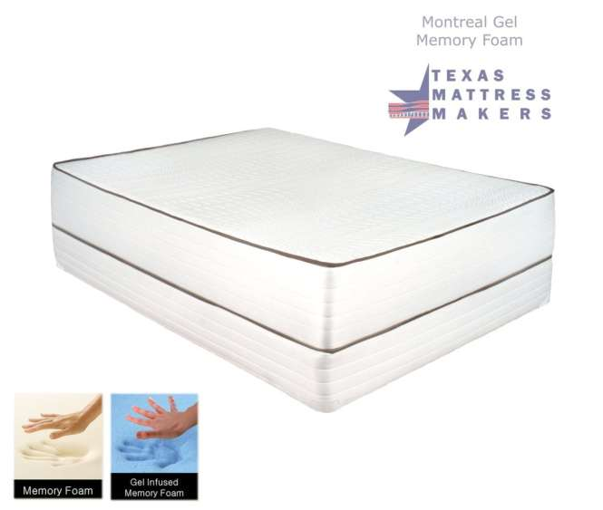 Montreal Gel Memory Foam Mattress