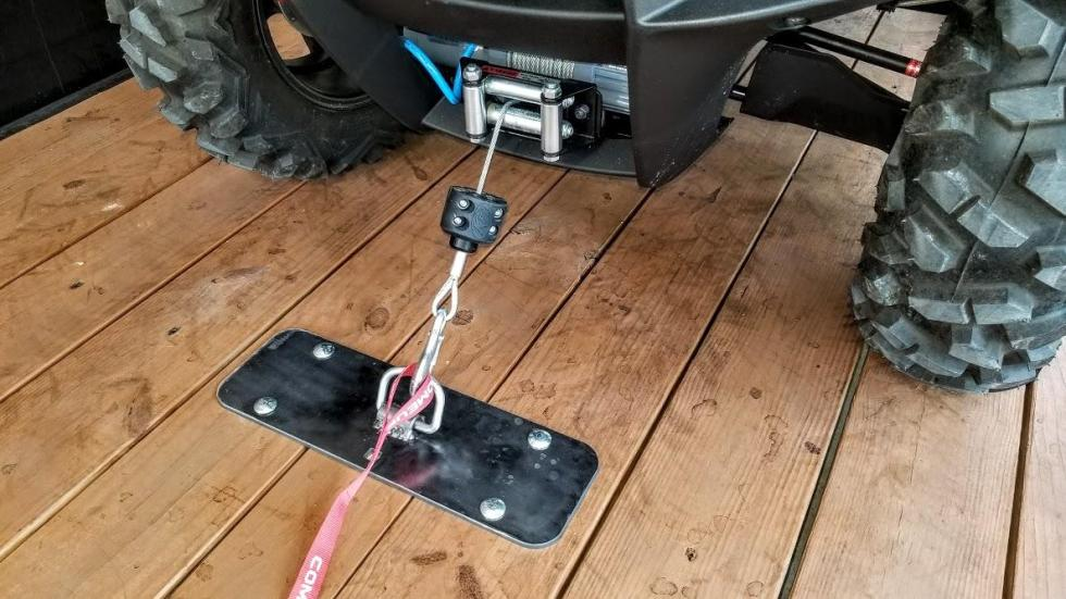 Prototyping a New ATV / UTV Tie Down System for Trailers