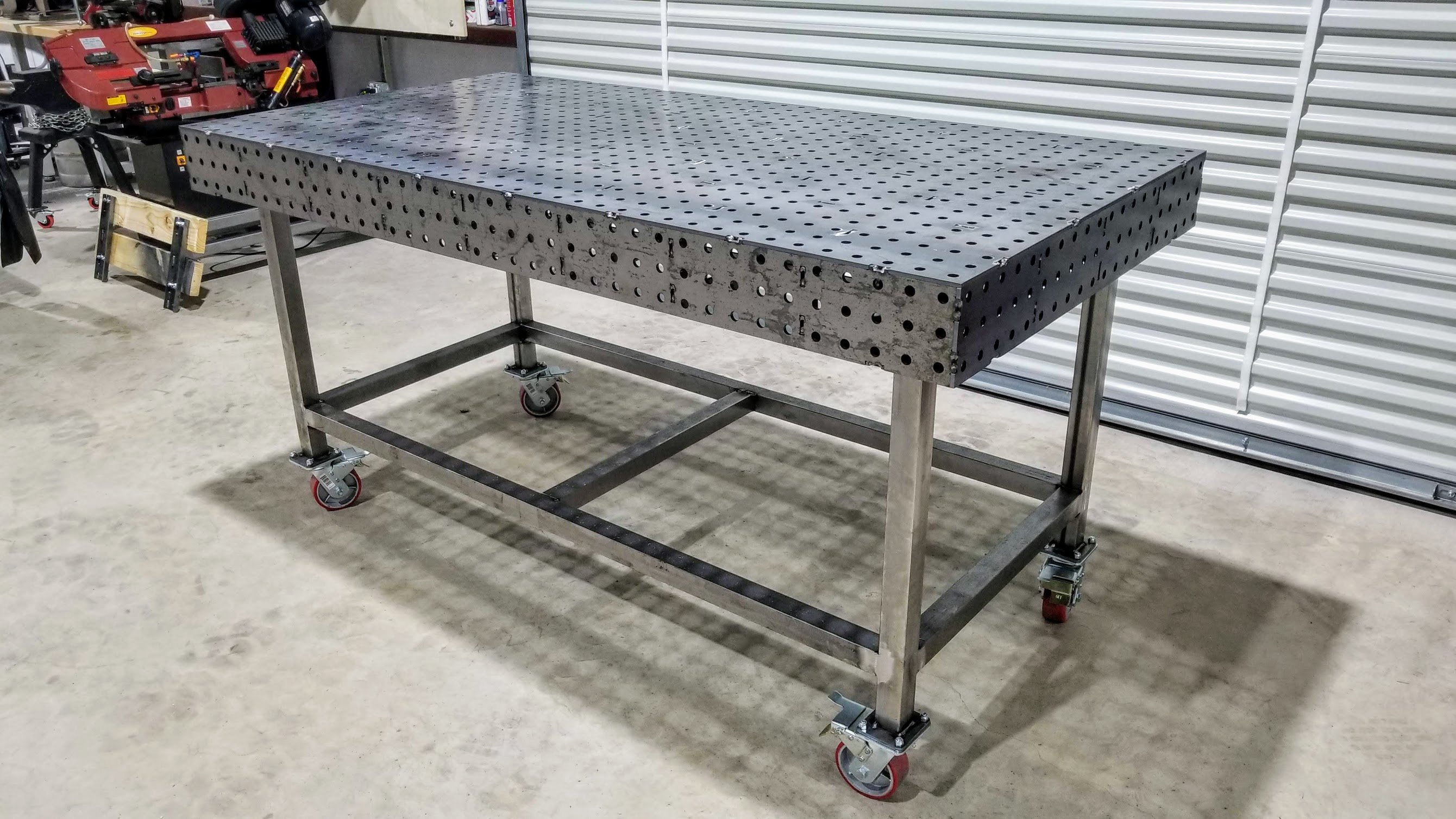 Fantastic Welding Table 40 X 80 Fully Fabricated Weld Tables Download Free Architecture Designs Embacsunscenecom