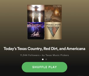 39 New Texas/Red Dirt Songs Worth adding to your Playlist