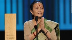 Anuradha Koirala CNN Hero 2010