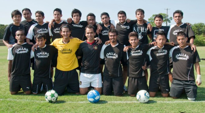 Dallas Gurkhas vs Everest Soccer Team 2011