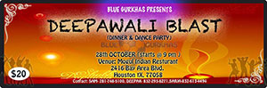 Deepawali Blast in Houston by Blue Gurkhas