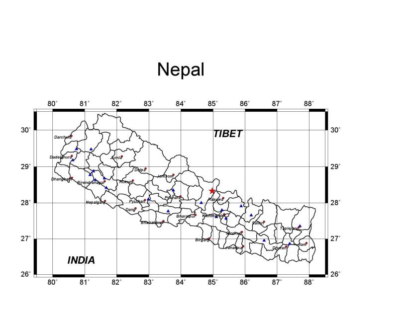 Gorkha :Epicenter of Earthquake