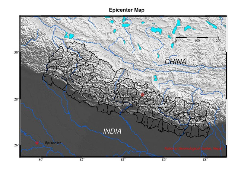 Gorkha Earthquake November 13, 2011