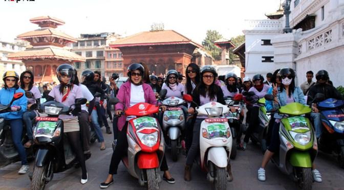 All Women Scooty Rally 2012