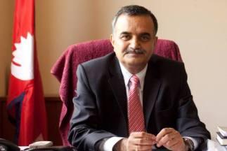 Nepal's Ambassador To UAE Dhananjay Jha/ Photo Source: The National