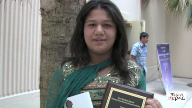 Bhabika Joshi Recognized by NRN NCC of USA