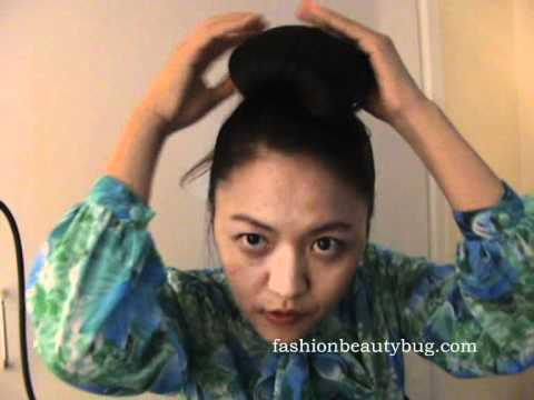 Audrey Hepburn (Breakfast at Tiffany) Inspired Hairstyle