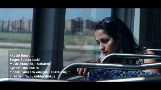 Khusi Thiye by Sabina Joshi [Music Video]