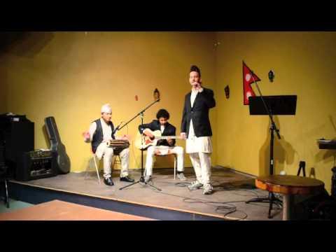Mike singing Resham Firiri at Nepali Cultural Program in Houston [Video]