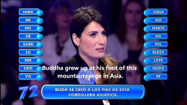 'Where Was Buddha Born?' Spain: 'Nepal'