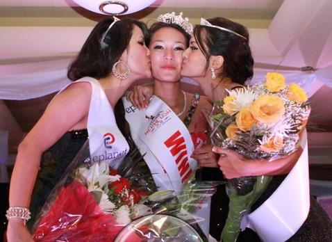 Third Miss Nepal US on August 17, 2013 at Queens Theater in New York