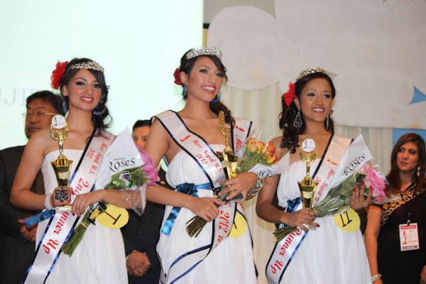 Miss Nepal US 2012 Winners