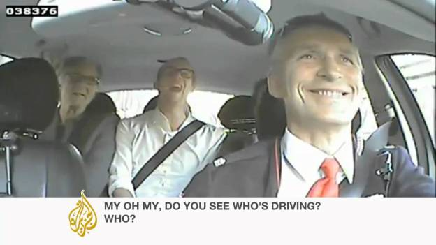 Norwegian PM works as a Taxi Driver