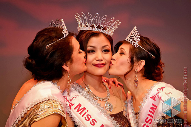 Winners of the Miss Nepal US 2013 (Photo: Bikrant Shrestha)