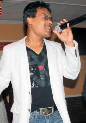 Singer Sanjeep Pradhan