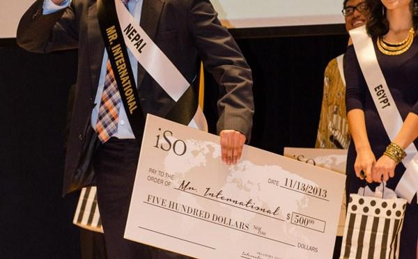Mr Nepal Sudarshan Wins Mr Int'l At Oklahoma State Uni