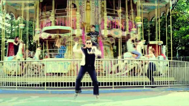 PSY's GANGNAM STYLE Music videos without music
