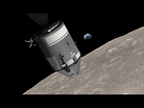 Amazing Earthrise explained with Video