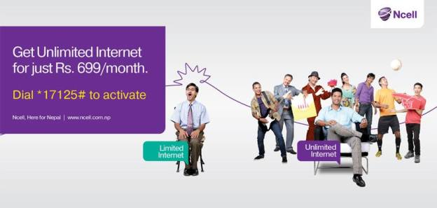 Get Unlimited Internet with Ncell