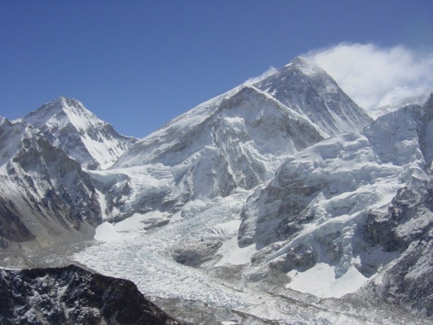 The view of Everest from Kala Patthar