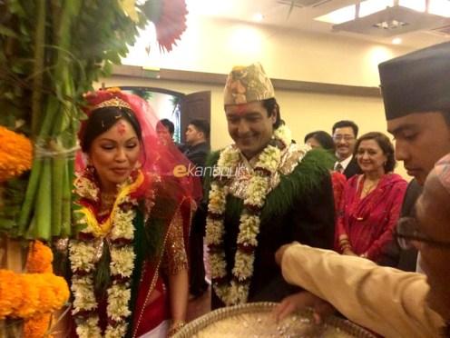Rajesh Hamal Gets Married, finally!