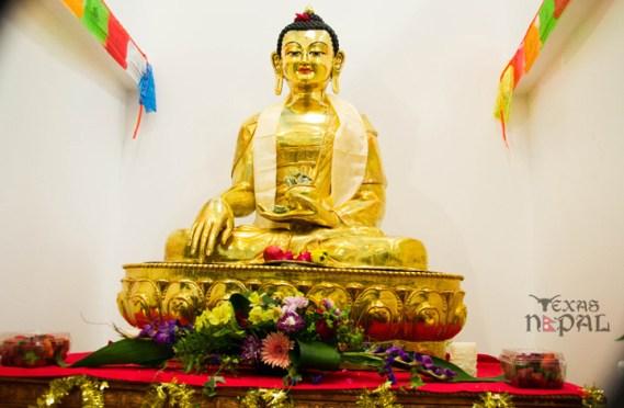Buddha Statue Inauguration at Nepali Temple Irving