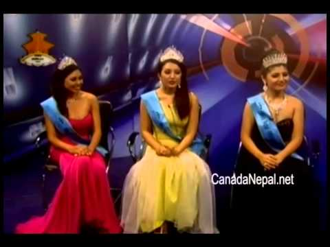 Interview with Miss Nepal 2014 Winners