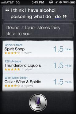 Thank you Siri!