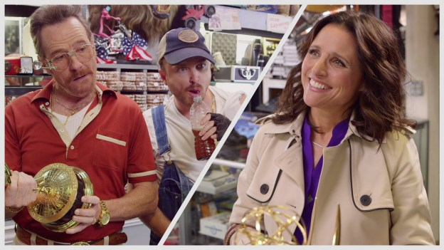 Barely Legal Pawn Ft. Bryan Cranston, Aaron Paul and Julia Louis-Dreyfus