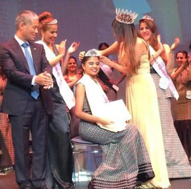 Khushbu Mishra Crowned Miss Nepal US '14