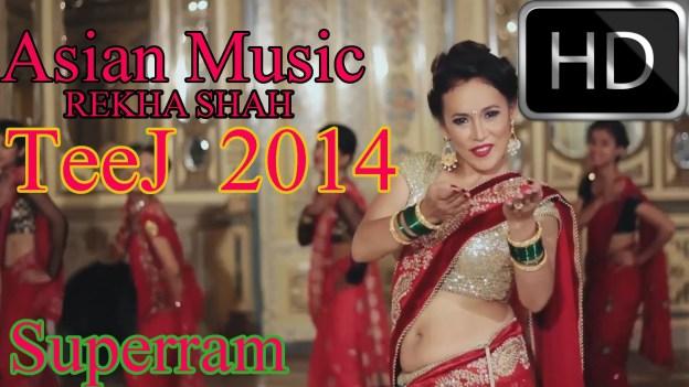 Reshami Rato Sari by Rekha Sari