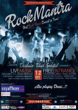 RockMantra Concert on October 12, 2014