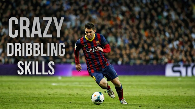 Lionel Messi Crazy Dribbling Skills 2014