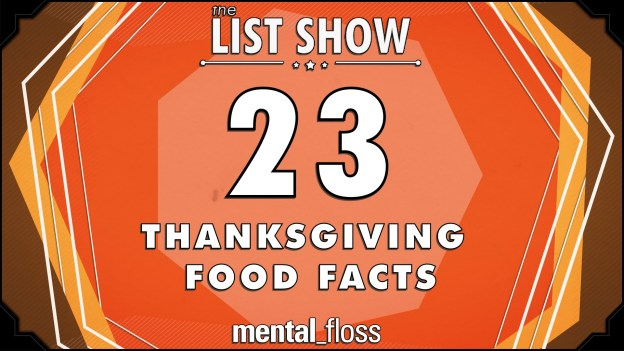 23 Thanksgiving Food Facts