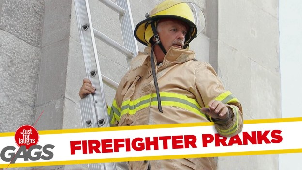 Best Firefighter Pranks – Just for Laughs Gags
