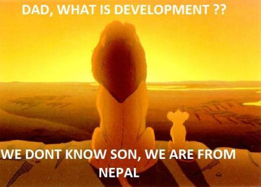 Development unknown – we are from Nepal!