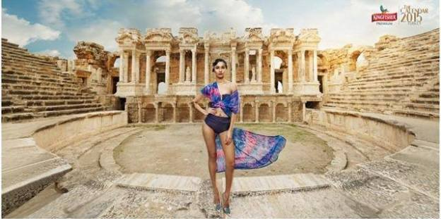 Nepali Model Aastha Pokharel Becomes 'Kingfisher Calendar Girl 2015'
