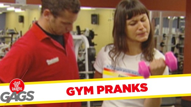 Best Gym Pranks – Just for Laughs Gags