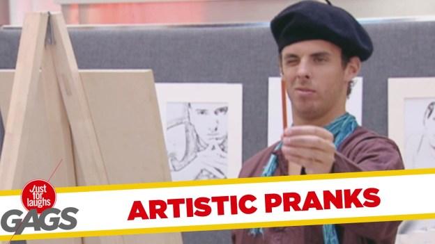 Best Artstic Pranks