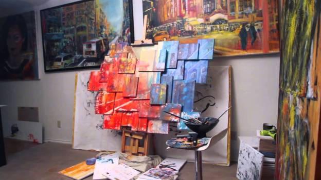 Block 47 Canvas featuring Arjoon KC