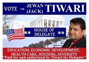 Tiwari4Delegate Banner