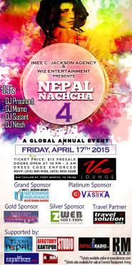 Nepal Nachcha 4 Dallas on April 17, 2015